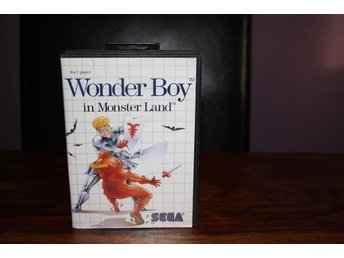 Wonder boy in monster land - Sega Master System
