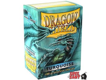 Dragon Shield Protective Sleeves Standard Turquoise 100 Pack