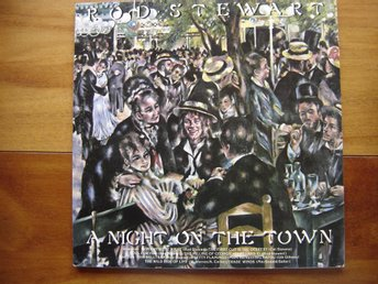 "Lp. Rod Stewart ""A night on the town"""