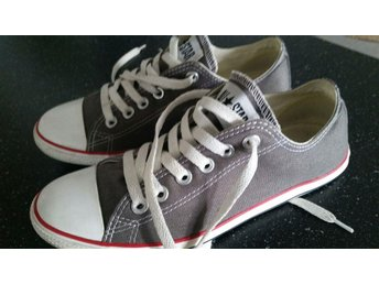 CONVERSE ALL STAR grå sneakers 37,5
