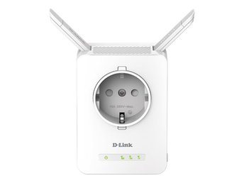 D-Link Wi-Fi Range Extender with Power Passthrough, Räckviddsökare för wifi