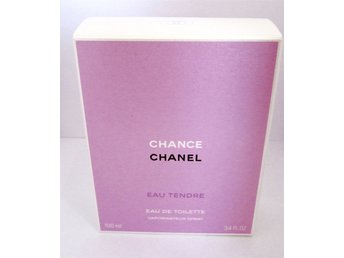Chance Eau Tendre Chanel , 100 ml, EDT.  HELT NY!