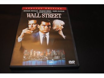 DVD-film: Wall Street - Special edition (Michael Douglas, Charlie Sheen)