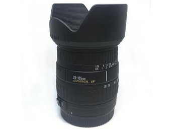 Sigma 28-105mm UCIII Aspherical IF 1:3.8-5.6 Canon EF