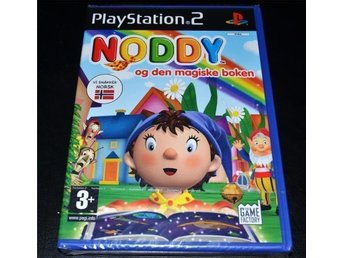 Noddy - ps2 playstation 2 , förseglad / ny NORSK