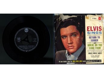 ELVIS PRESLEY - WHERE DO YOU COME FROM