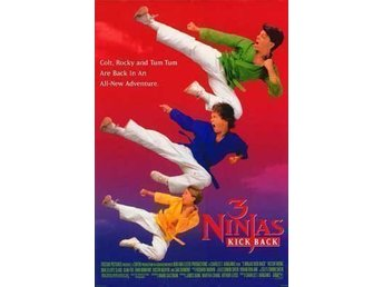 3 Ninjas Kick Back VHS Region 1