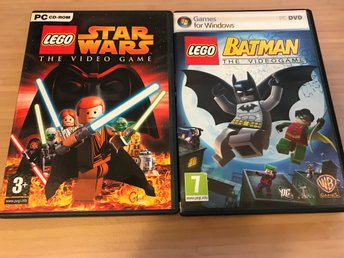 PC: Lego Star Wars The Video Game & Lego Batman The Video Game