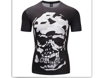Compression 3D Print  T-shirts Tee Top Sports Gym Fitness
