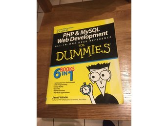 PHP & MySQL Web development for dummies (eng)