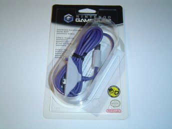 Link Kabel Linkkabel Original Nintendo Gamecube med Gameboy Advance GBA NYTT