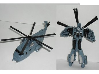 Transformers Blackout Robot till helikopter figur
