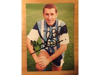 Terry Butcher Autograf