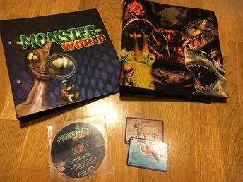 Monster World Pärmar mm ! Monsterworld Retro Nostalgi