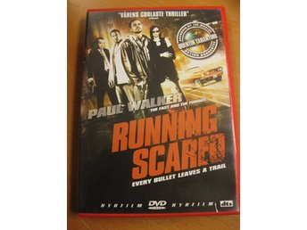 RUNNING SCARED - PAUL WALKER  - DVD