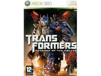 Transformers Revenge of the Fallen XboX 360 INPLASTAD!