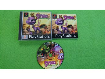 Spyro 2 Gateway to Glimmer KOMPLETT Playstation PSone