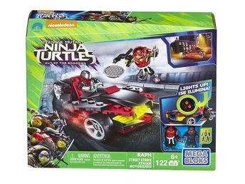 Mega Bloks Teenage Mutant Ninja Turtles Raphael Street Strike
