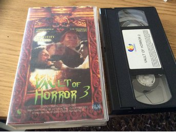 VAULT OF HORROR 3 VHS Timothy Dalton,Lou Diamond Phillips,