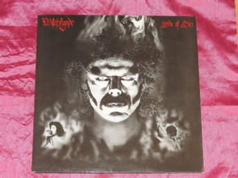 WITCHFYNDE - LORDS OF SIN & ANTHEMS - 13 LÅTARS 2LP - BELGIEN 1984 - 1a PRESS