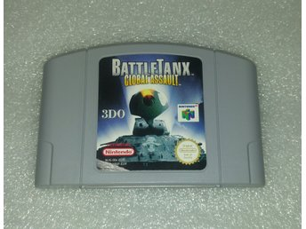 Battle Tanx Global Assault till Nintendo 64! EUR! 1kr