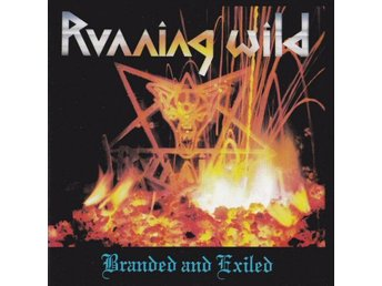 Running Wild -Branded and exiled CD Orig German Noise 90s pr