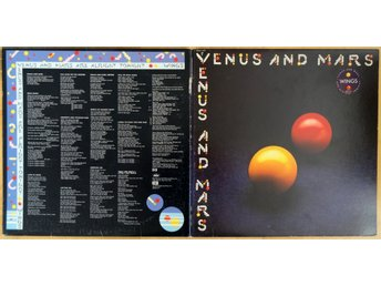 Paul McCartney-Venus And Mars (Capitol SMAS 11419) 1975