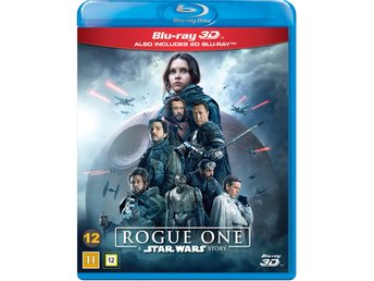 Rogue one a star wars story- Ny- Inplastad- Blu-ray 3d