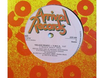 "VILLAGE PEOPLE - Y.M.C.A. (12"") SVENSK"