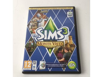 EA Games, PC & mac spel, The sims 3 - Monte Vista, Flerfärgad/Blå