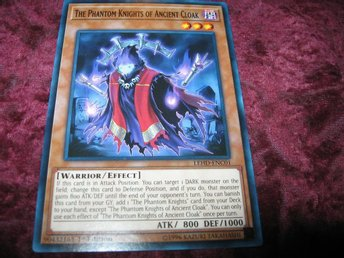YU-GI-OH THE PHANTOM KNIGHTS OF ANCIENT CLOAK LEHD-ENC01