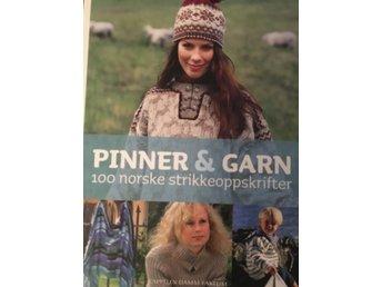 pinner og garn 100 norske strikkeoppskrifter