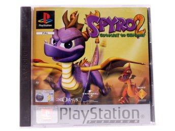 Spyro 2: Gateway To Glimmer (Platinum) - PS1 - PAL (EU)
