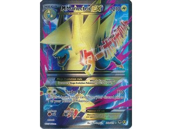 Mega Manectric EX - 24a/119 - Full Art Promo Pokemon XY Promos