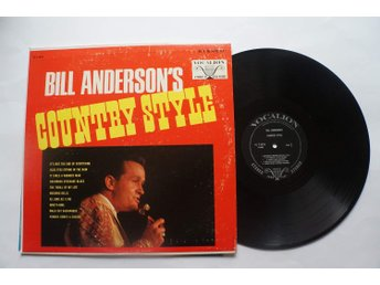 ** Bill Anderson  ‎– Bill Anderson's country style **