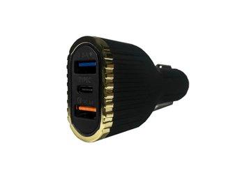 Quick Charge 3.0 Billaddare samt 3.1A uteffekt ladda två enheter