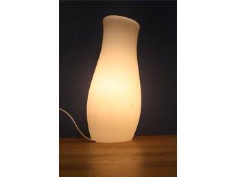 Ikea bors lampafönstersänglampa i vit frosrad.. (355302657