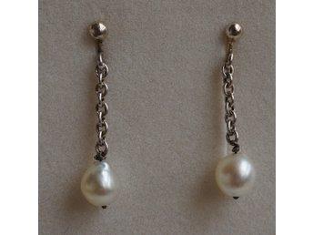 odlade pärlor örhängen