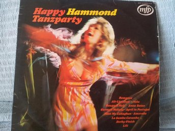 vinyl Happy Hammond Tanzparty nostalgi  LP  retro