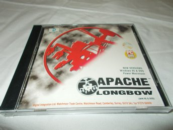 Apache Longbow Mac CD ROM spel