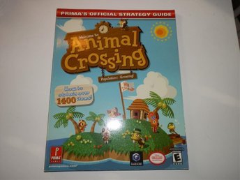 ANIMAL CROSSING - PRIMA´S OFFICIAL STRATEGY GUIDE - GAMECUBE -