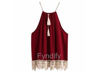 Blus/Top Tassels Röd XL