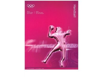SYDNEY 2000 Offical Olympic Games Sport Program HANDBALL - Sävedalen - SYDNEY 2000 Offical Olympic Games Sport Program HANDBALL - Sävedalen