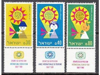 Israel 1967. M nr: 398-400 ** - Njurunda - Israel 1967. M nr: 398-400 ** - Njurunda