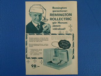 Annons Remington Rollectric