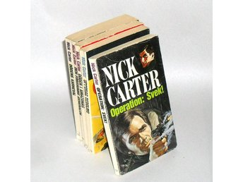 5 Pocket: Nick Carter - Operation: Svek! & Uppdrag Redolmo & Döden i Amazonas &