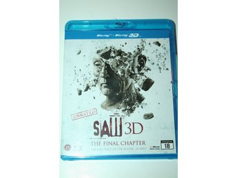 Saw 3D - The Final Chapter (3D-Blu-ray + Blu-ray)