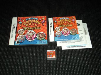 DS Super Monkey ball Touch & Roll