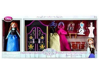 Disney Frost Anna Wardrobe Set