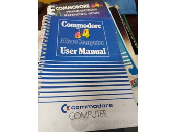 COMMODORE 64 User Manual Vinylborsen-skivbutik